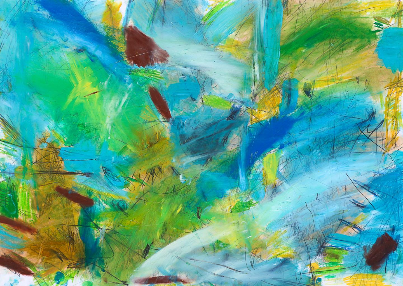 "Giulio Benatti - ...""Thus ""the color of the sky  and  the earth will save us"""