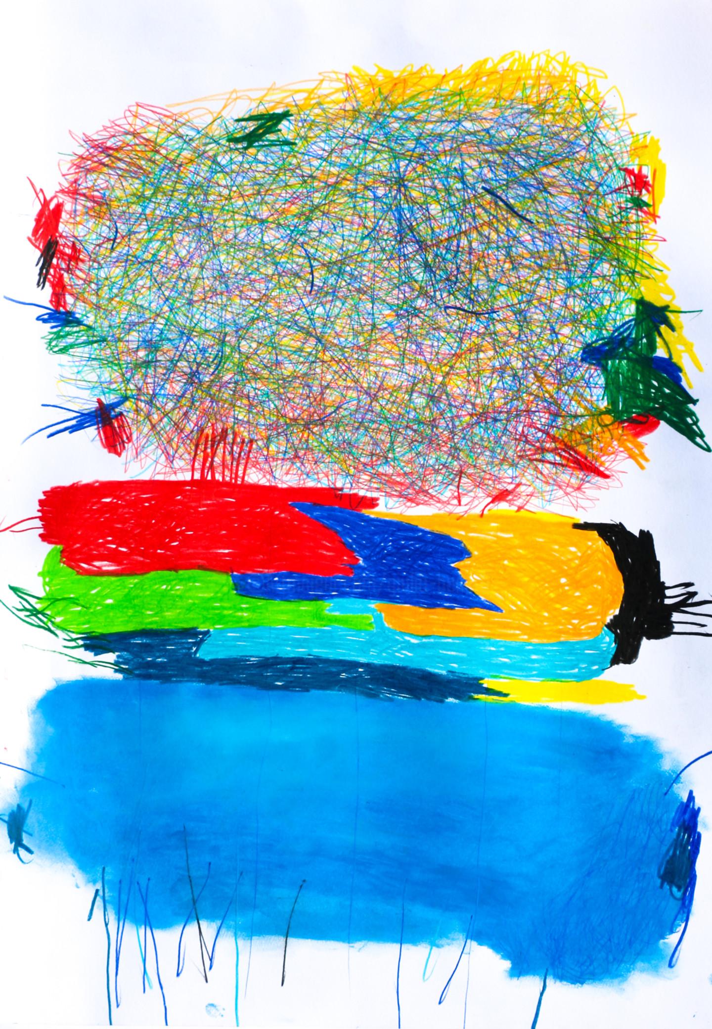 """Giulio Benatti - """"Blue"""" 1"""