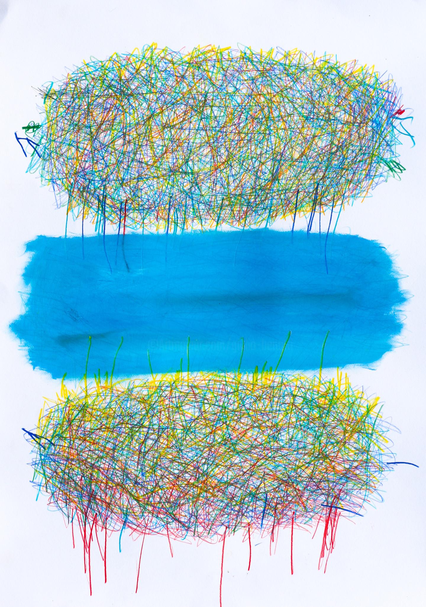 """Giulio Benatti - """"Blue"""" 3"""