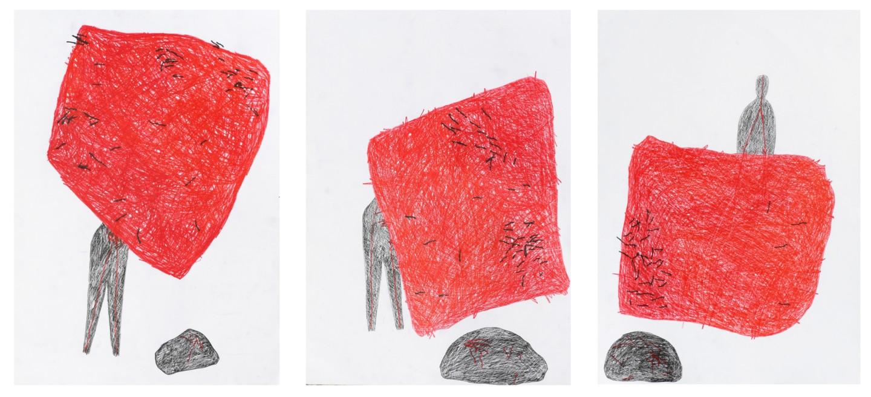 "Giulio Benatti - ""Triptych (24-8-21)"
