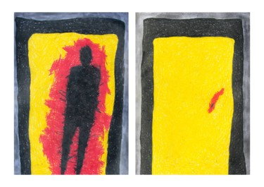 """"""" The threshold"""" diptych"""