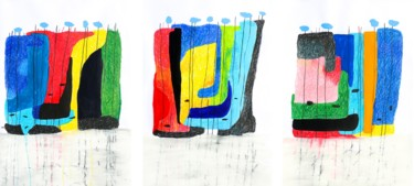 """A word. A word!""   (Triptych)"