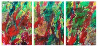 """Summary of Creation"" 5 triptych"