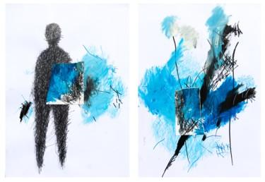 """ Blue Diptych"""