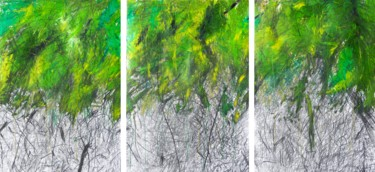"""Summary of creation""  2 triptych"