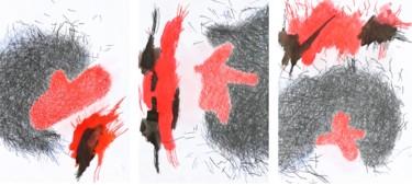 """Fragments of god"" triptych"