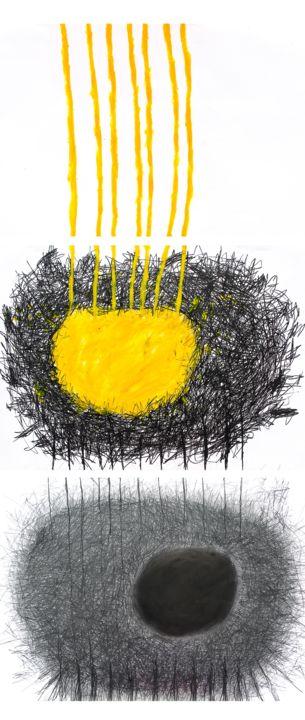 Giulio Benatti - the stigma of light (triptych)