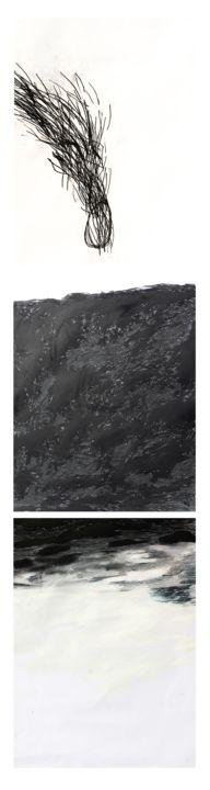 Giulio Benatti - the plunge  (triptych)