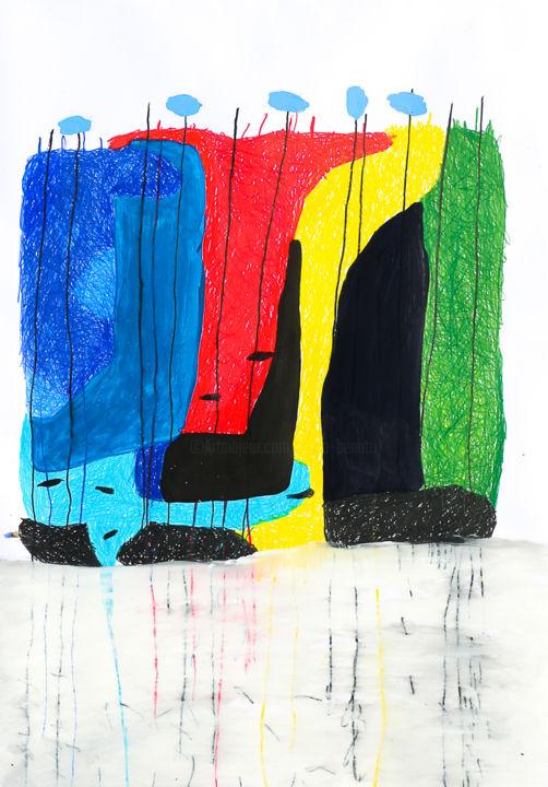 "Giulio Benatti - ""A word. A word!""  1 (Triptych)"