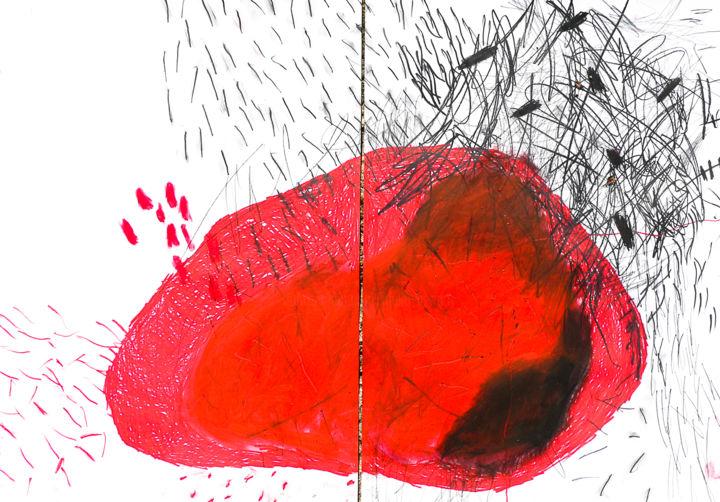 "Giulio Benatti - ""The den of the body"" diptych"